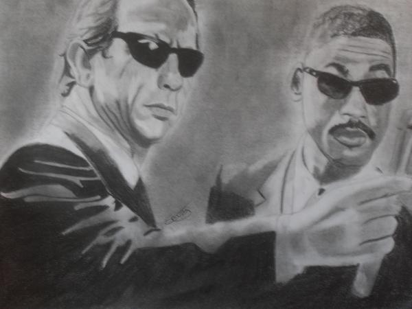 Will Smith, Tommy Lee Jones by Erwan